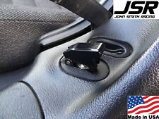 94-04 Ford Mustang JSR Coin Holder Delete Plate BLACK Toggle Switch Panel 3D