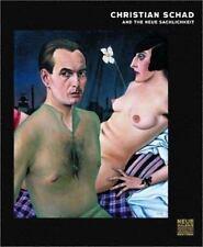 Christian Schad by Jill Lloyd and Michael Peppiatt (2003, Hardcover)