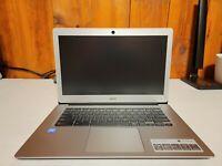 NEW - Acer Chromebook 14, Intel Atom x5-E8000 4GB 32GB eMMC, CB3-431-12K1 Silver