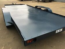 Car Trailer Tandem axle 17X6.6FT 2T USE4 RACE FORD HOLDEN NO RAMPS OR PAINT INCL