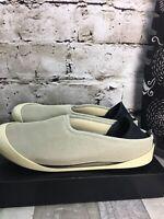 MAHABIS EU40 / 9 Grey Ivory Adj Detachable Sole SlipOn Convertible Slipper Shoes