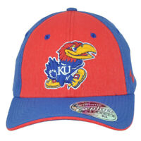 NCAA Zephyr Kansas Jayhawks Two Tone Fitted Stretch X-Large Adults Men Hat Cap