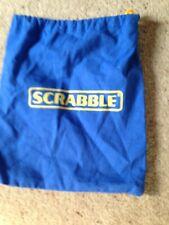 Junior Scrabble Game, Letter Tiles Bag. Blue. Genuine Mattel Part.