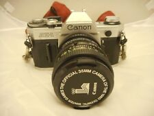 CANON AE-1 CAMERA 35 MM / WITH ACCESSORIES