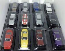 Aoshima 1/64 Japan Gurachan Set Of 12 Skyline Mazda RX5 Toyota Nissan 240z