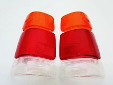 REAR TAIL LIGHT STANDARD LENSES L+R FOR ISUZU PICKUP 1991-96 HOLDEN RODEO TF TFR