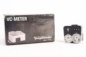 Voigtlander Belightungsmesser VC-Meter Shoe Mount Light Meter in Box V10