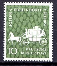 Germany - 1957 Joseph von Eichendorff / Coach Mi. 280 MNH