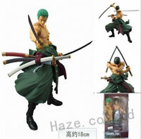 Anime One Piece Roronoa Zoro PVC Action Figure Movable Toy Collection in Box