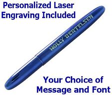 Personalized Fisher Space Pen #400BB/P -  Blueberry Bullet Pen