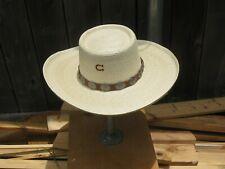 Cowboy, High Desert, hat, Charlie 1Horse,L, Straw ,New,SASS, movie