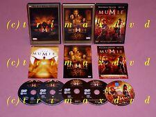3x DVD _ Die Mumie & Die Mumie kehrt zurück & Das Grabmahl des Drachenkaisers