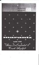 Service Manual-Anleitung für Marantz 4300