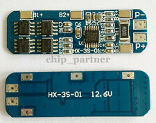 3S 10A 12V Lithium Battery Charger Protection Board 18650 Li-ion Charging Module