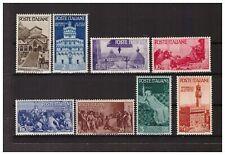 s31944) ITALIA 1946 MNH** Rep. Medioevali 8v