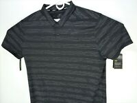 NEW Nike Dry Textured Golf Polo Shirt Black Mens Size XL 932203 060 $65