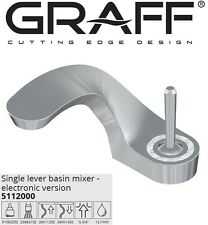 Graff Ametis 5112000 Basin Mixer Electronic Version w/Led+ Push-open drain waste