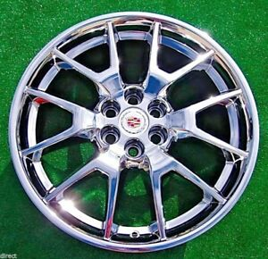 Cadillac SRX Chrome 20 Wheel 2013 2014 15 2016 OEM Factory GM Spec 20988112 4709