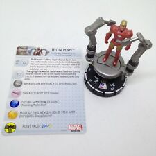 Heroclix Nick Fury, Agent of SHIELD set Iron Man (face) #053 Super Rare w/card!