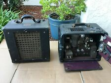 Bell & Howell Filmosound Projector Model C with Matching Speaker & Cables 16mm