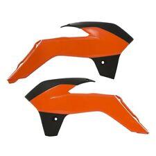UFO Replacement Plastic Radiator Shrouds/Covers OEM Orange/Black (KT04061-999)