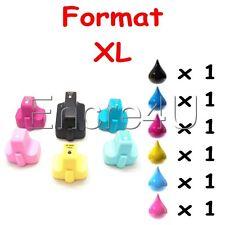 6 Cartouches d'encre compatibles HP Photosmart C5180  ( Pack HP 363 XL - V2 )