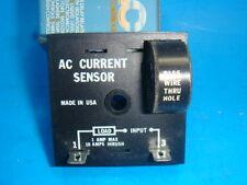 NEW  SSAC AC CURRENT SENSOR CS120A2, 120VAC, 1 AMP, CODE 4991X, NEW IN BOX