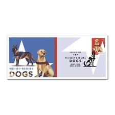 USPS New Military Working Dogs, Dutch Shepherd and Labrador Retriever Cachet