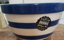 Mason Cash Navy Stripes All Purpose Bowl NEW With Tag