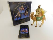 "New ListingFontanini by Roman 5"" Balthazar on Camel Christmas Nativity Figurine #65286 1992"