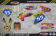 KTM 65 2016 2017 - NEON STYLE - stickers decals  Full Graphics custom kit decals