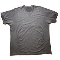 Lululemon Men's Metal Vent Tech Short Sleeve Shirt XXL Grey