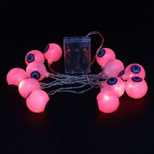 20 LED Halloween Eyeball String Light  for Indoor Decoration Battery Power 7.2ft