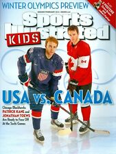 2014 Sports Illustrated for Kids w/Cards: Patrick Kane & Jonathan Toews Olympics