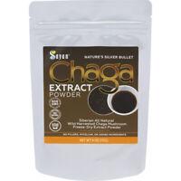 Siberian Chaga Mushroom Extract Powder Freeze Dry 4 Oz / 113g Wild Organic Tea