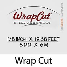 """WrapCut"" 6m,hilo de coupe lámina vinilo,adhesivo,cubierta,cinta aislante,"