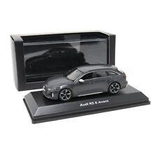 Audi RS6 Avant 1:43 Modellauto 5012016231 Miniatur Daytonagrau matt RS 6 Grau