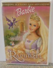 Barbie as Rapunzel (DVD, 2002) BRAND NEW