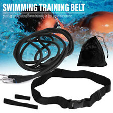 4m Swimming Trainer Strength Belt Swim Pool Resistance Tether Leash Aid Harness