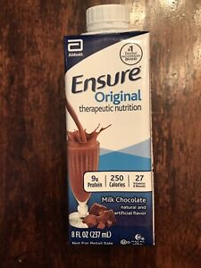 Ensure Milk Chocolate 8 oz Carton Abbott 64935 Case Of 24 New Jan 2022