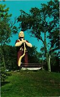 Vintage Postcard - Johnny Kaw Legendary Character Kansas Unposted #2384
