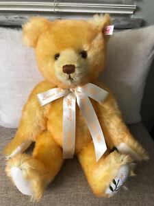 Steiff #666377 Loves Me Loves Me Not Teddy Bear LE