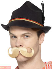 Smiffy's 48520 Deluxe German Trenker Hat Black One Size