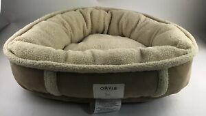 ORVIS Dog Faux Sherpa Fleece Lined Dog Bed XS