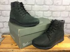 TIMBERLAND UK 5 EU 38 BLACK KILLINGTON  6 INCH NUBUCK BOOTS BOYS CHILDRENS