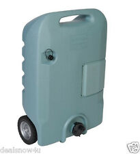 Portable Wheel 25 Gallon RV Waste Gray Black Sewer Waste Water Tank Camper Tote
