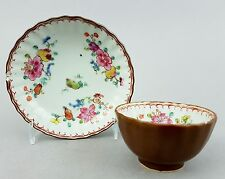 Koppchen / Teetasse China, Kangxi ca. 1720, Famille rose Dekor, Batavia ware