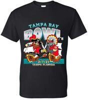 Kansas City Chiefs Vs. Tampa Bay Buccaneers Super Bowl T Shirt S M L XL & 2XL
