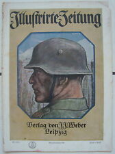 Illustrierte Zeitung Verlag J.J.Weber Leibzig 4.Oktober 1917 Kriegsnummer 166