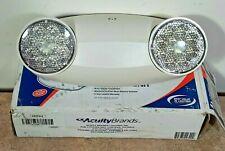 Lithonia Lighting ELM2 LED M12 Quantum 2-Light Adjustable Emergency Sign - White
